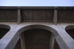 Arco concreto da ponte Fotografia de Stock Royalty Free
