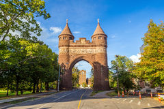 Arco conmemorativo de los soldados y de los marineros en Hartford Imagenes de archivo