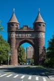 Arco conmemorativo Hartford CT de los soldados y de los marineros imagenes de archivo