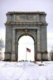 Arco conmemorativo nacional del parque nacional de la fragua del valle fotos de archivo libres de regalías