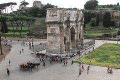 arco Costantino di (Constantin s łuk) Roma Obraz Royalty Free