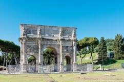 arco costantino di (Constantins båge) Roma Arkivbild