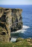 Arco costiero, vicino allo stoppino, Caithness, Scozia, Regno Unito Immagini Stock Libere da Diritti