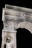 Arco cuadrado de Washington Imagen de archivo libre de regalías