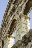 Arco da arena dos Pula Fotografia de Stock Royalty Free