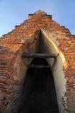 Arco da arquitetura tailandesa imagem de stock royalty free