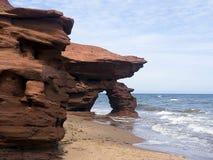 Arco da costa de Seaview, PEI, Canadá Foto de Stock Royalty Free