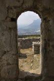 Arco da entrada do templo de Jove Imagem de Stock