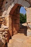 Arco da fortaleza. Imagem de Stock