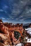 Arco da garganta de Bryce Foto de Stock