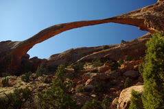 Arco da paisagem foto de stock