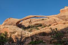 Arco da paisagem nos arcos N P Fotos de Stock Royalty Free