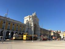 Arco DA Rua Αουγκούστα Στοκ φωτογραφίες με δικαίωμα ελεύθερης χρήσης