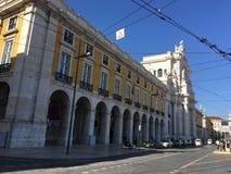 Arco DA Rua Αουγκούστα Στοκ Εικόνες