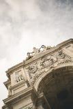 Arco da Rua Augusta Fotografie Stock