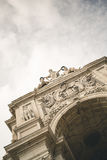 Arco da Rua Augusta Stock Photos