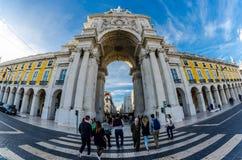 Arco da Rua Augusta - Lisbon Stock Photo