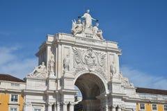 Arco da Rua Augusta in Lisbon Stock Photography
