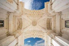 Arco da Rua Augusta, Lisbon, Portugal Stock Photo