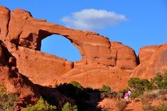 Arco da skyline Fotos de Stock