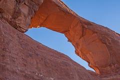Arco da skyline no parque nacional 1 dos arcos Imagem de Stock