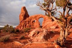 Arco da torreta Imagem de Stock Royalty Free