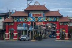 Arco da unidade - a segunda arcada de 4 arcadas em Davao Imagens de Stock Royalty Free
