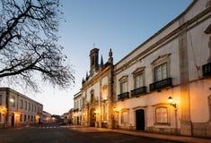 Arco Da Vila, Faro stad, Algarve Portugal arkivbild