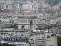 Arco dalla torre Fotografia Stock
