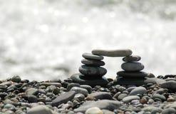 Arco dalle pietre del mare Immagini Stock