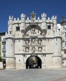 Arco de Παναγία - Burgos - Ισπανία Στοκ φωτογραφία με δικαίωμα ελεύθερης χρήσης
