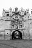 Arco de Σάντα Μαρία στο Burgos (Ισπανία) Στοκ εικόνες με δικαίωμα ελεύθερης χρήσης