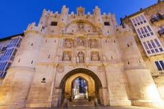 Arco de Σάντα Μαρία στο Burgos Στοκ εικόνα με δικαίωμα ελεύθερης χρήσης