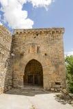 Arco de acceso Rello, Soria, Castiglia-Leon, Spagna Fotografia Stock
