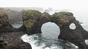 Arco de Arnarstapi Foto de Stock Royalty Free