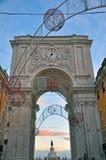 Arco de Augusta Imagenes de archivo