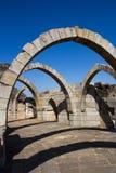 Arco de Champaner siete en Gujarat, la India Foto de archivo