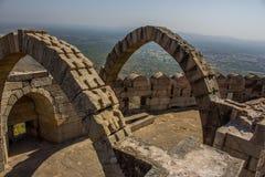 Arco de Champaner siete en Gujarat, la India Foto de archivo libre de regalías