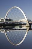 Arco de Clyde o puente squinty en Glasgow Fotos de archivo
