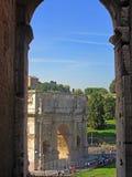 Arco de Constantim 3 Imagens de Stock
