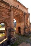 Arco de Constantim, Roma, Italy imagem de stock royalty free