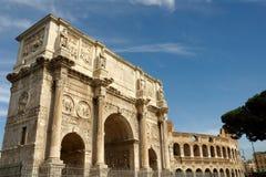 Arco de Constantina Fotos de archivo