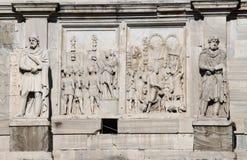 Arco de Constantina en Roma Fotos de archivo libres de regalías