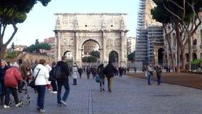 Arco de Constantina, Roma, Italia metrajes