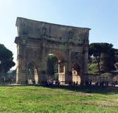 Arco de Constantine Roma Foto de Stock