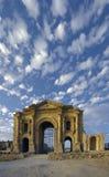 Arco de Hadrian, Jerash, Jordania. imagen de archivo libre de regalías