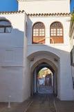 Arco de Jerez Puerta Zafra αψίδα Εστρεμαδούρα Στοκ Φωτογραφίες