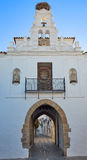Arco de Jerez Puerta Zafra αψίδα Εστρεμαδούρα Στοκ φωτογραφία με δικαίωμα ελεύθερης χρήσης