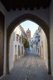 Arco de Jerez Puerta Zafra αψίδα Εστρεμαδούρα Στοκ Φωτογραφία