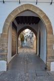 Arco de Jerez Puerta Zafra αψίδα Εστρεμαδούρα Στοκ εικόνα με δικαίωμα ελεύθερης χρήσης
